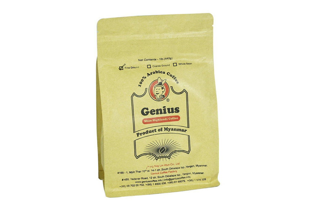 Coffee - Genius 100% Arabica Coffee 440 G