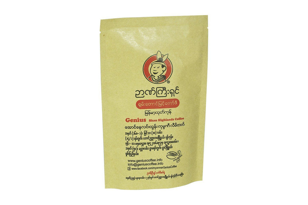Coffee - Genius Coffee (100% Arabica Coffee) 110g