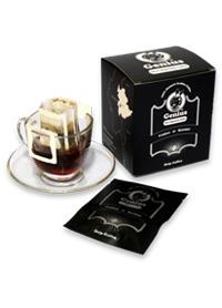 Genius 100% Arabica Drip Coffee Sachet (Coarse Ground)