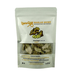 Food - Marlar-Mhwe Dried Ginger