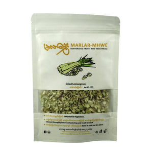 Food - Marlar-Mhwe Dried Lemongrass