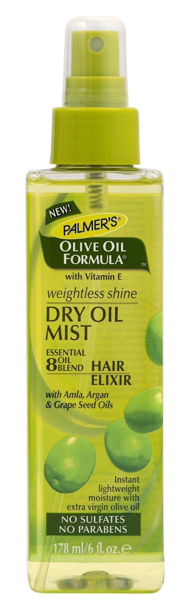 Palmer's Dry Oil Mist Weightless Shine