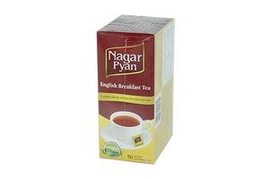Tea - Nagar Pyan  English Breakfast Tea (50 Tea Bags)