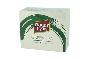 Tea - Nagar Pyan Green Tea (50 Tea Bags)