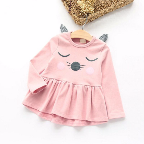 I'm All Cat Ears Toddler & Girls Dress