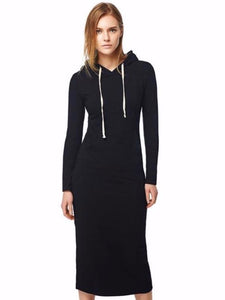 It's All Good in the Hood Long Pocketed Sweatshirt Dress
