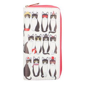 Many Mewds Tuxedo Cat Wallet