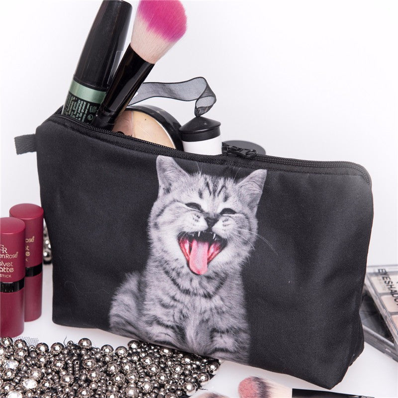 Sassy Kitten Makeup Bag