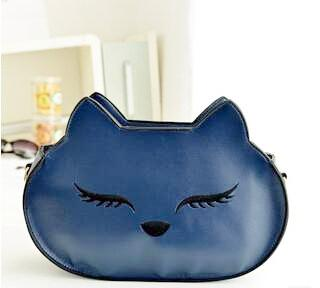 One Flirty Feline Crossbody Shoulder Bag