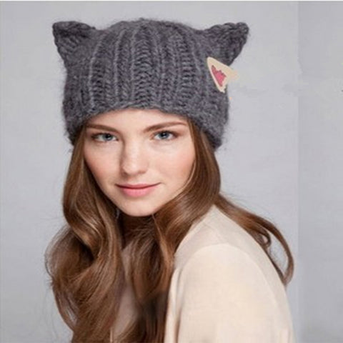 Cat in the Knit Hat with Ears