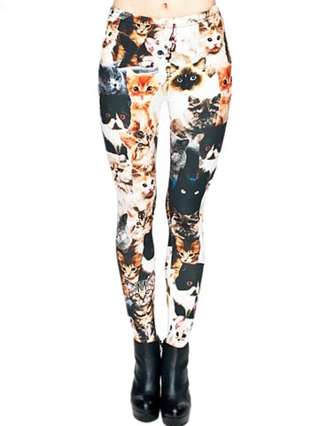 Reigning Cats & Paws Leggings