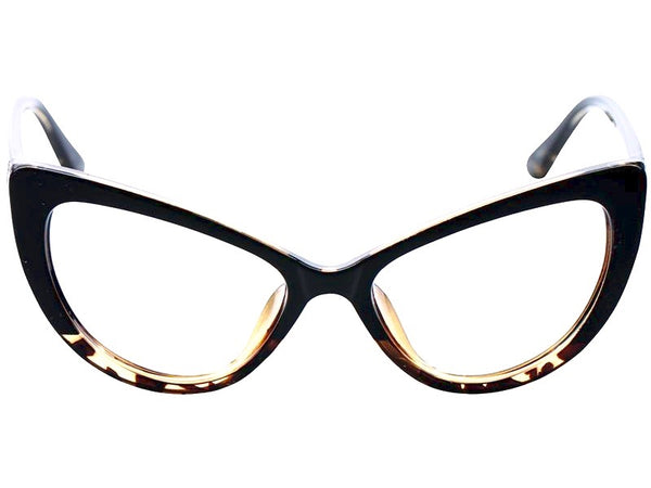 Throw in the Vowel Oversized Cat-Eye Reading Glasses