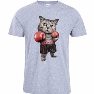 Thunderpaws Boxing Cat Men's Unisex T-Shirt