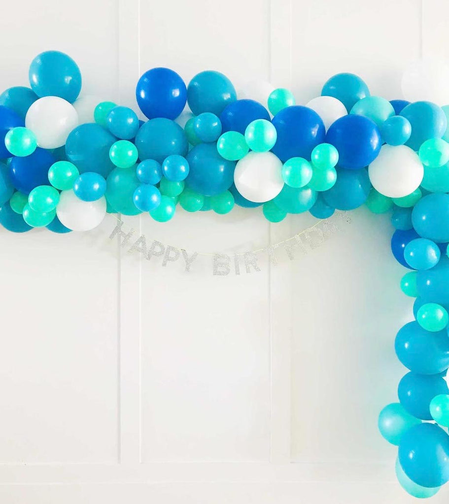Diy Balloon Garland Witty Bash