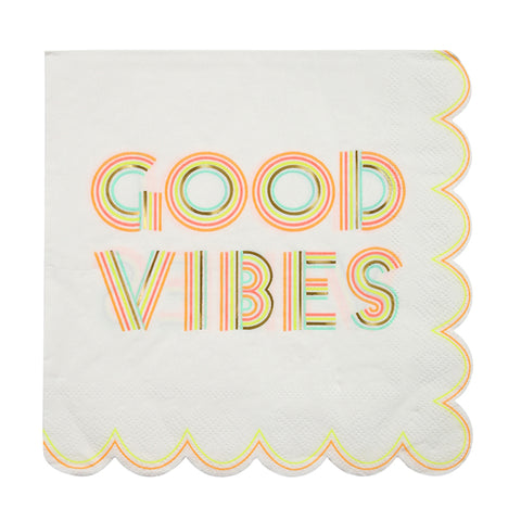 good vibes party supplies