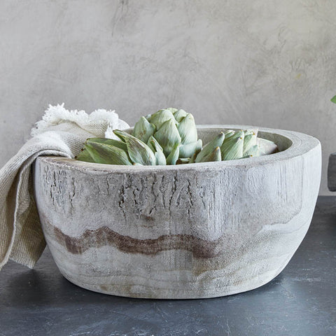rustic bowl in our home entertaining collection