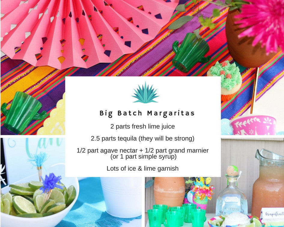 big batch margarita recipe