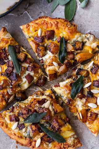 butternut squash flatbread pizza