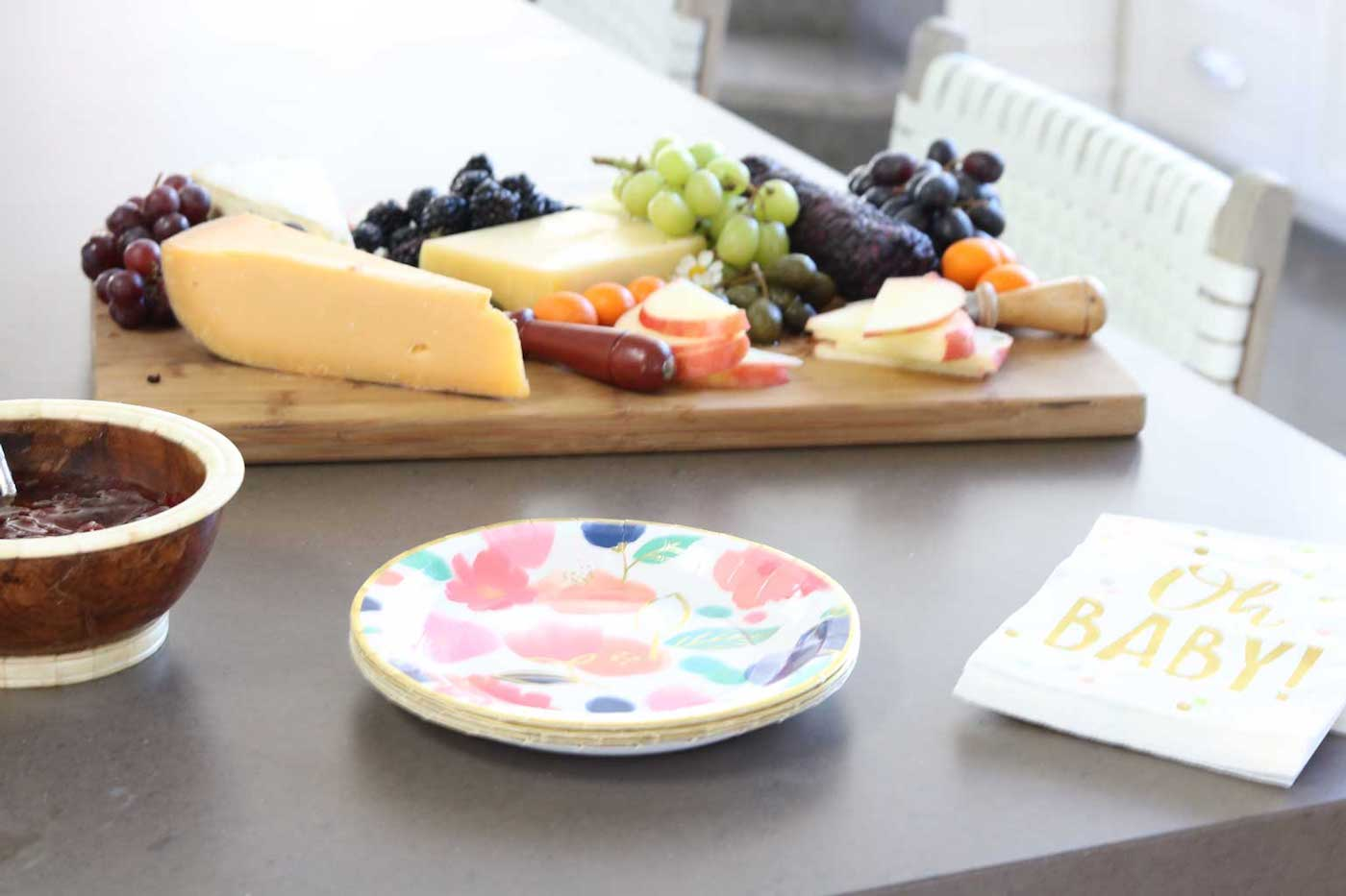 event cheese platter