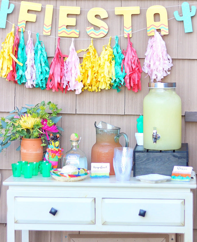 Fiesta Bar Setup