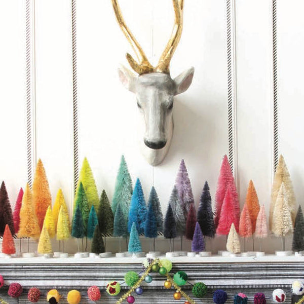 Rainbow Bottle Brush Trees