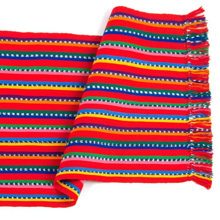 Red Serape Table Runner