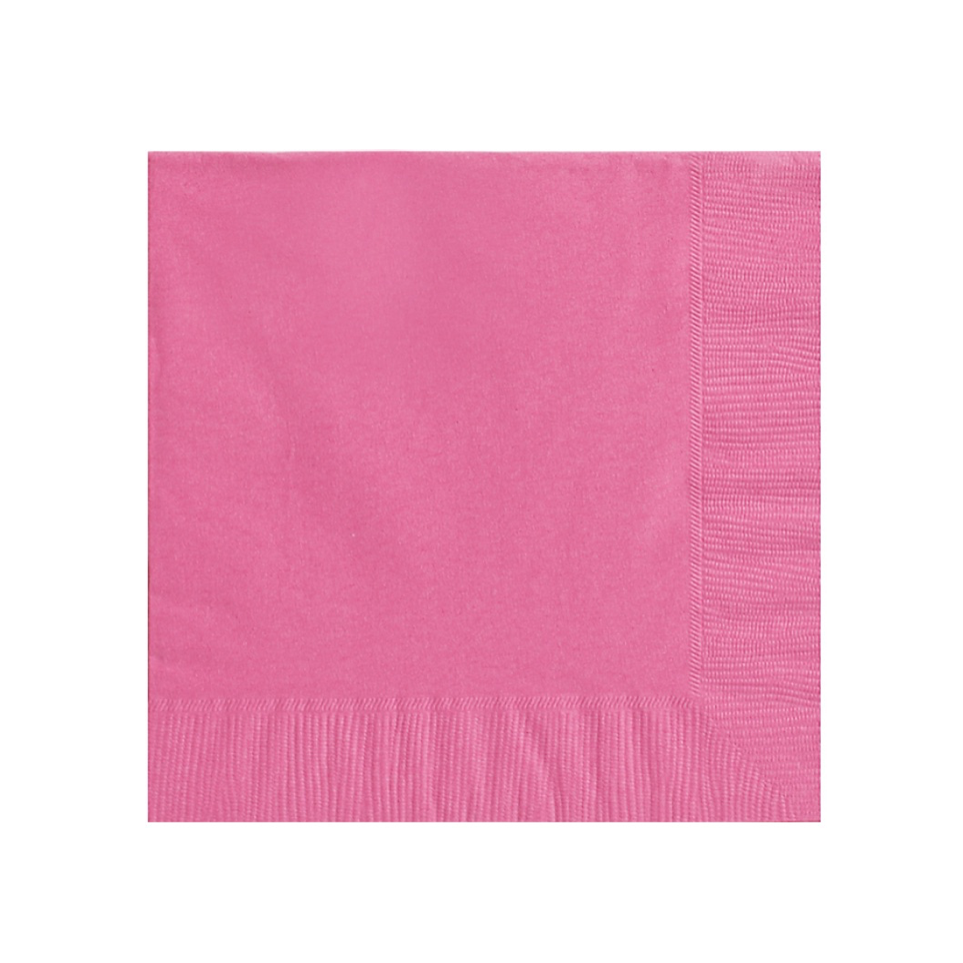 Bright Pink Party Napkins