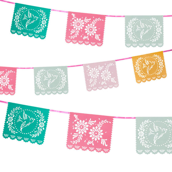 colorful fiesta party garland
