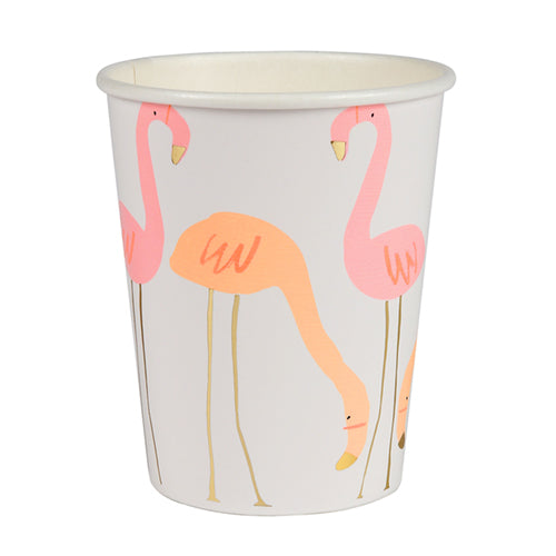 Pink Flamingo Party Cup