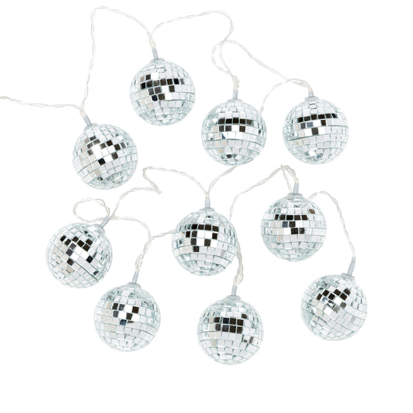 A String of Disco Ball Party Lights
