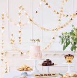 Gold Party Garland - Witty Bash