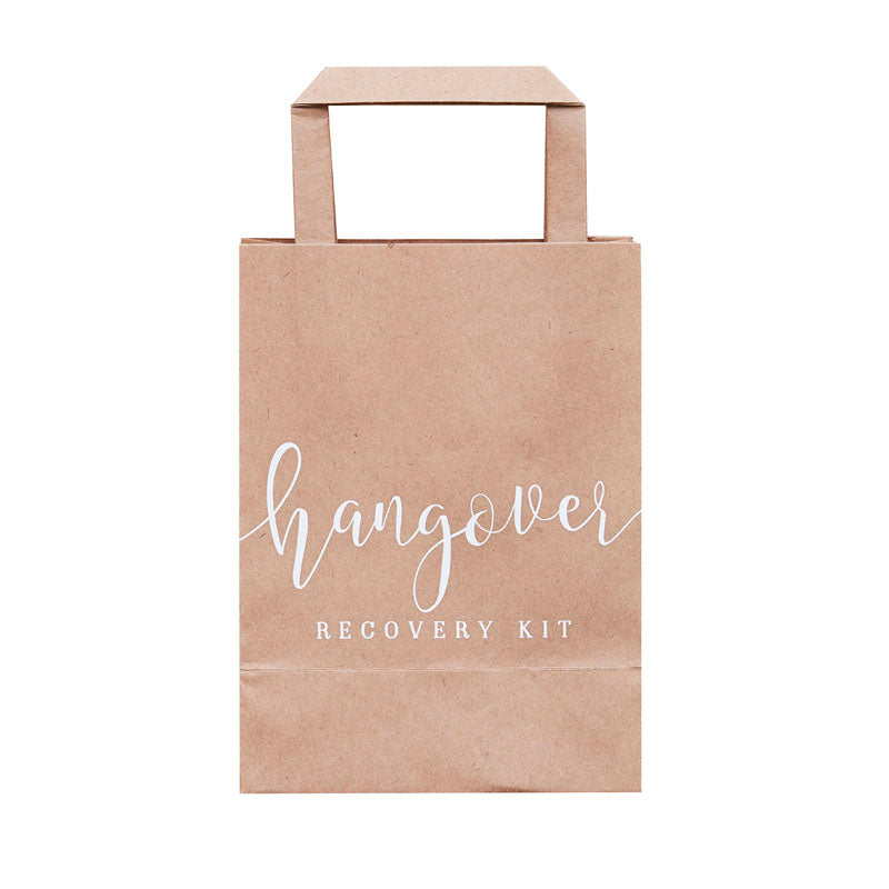 craft paper hangover bags