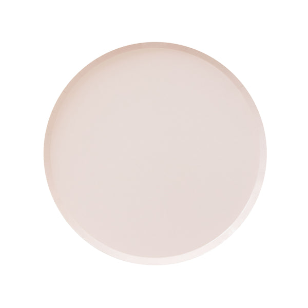 Nude Pink Party Plates - Witty Bash