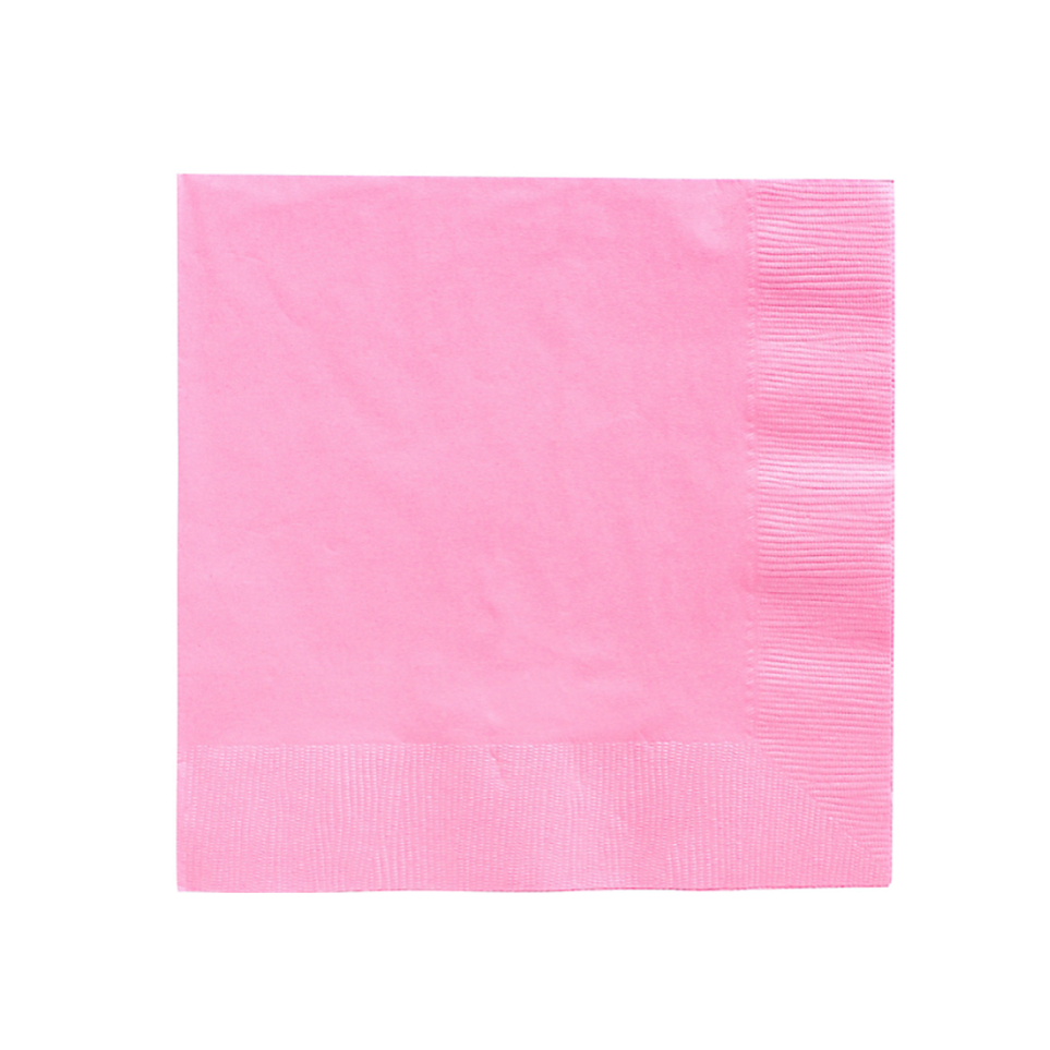 light pink paper party napkins