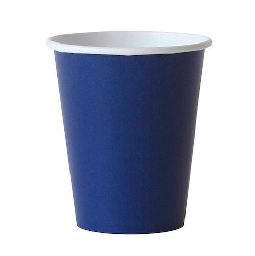 Solid Navy Blue Party Cups