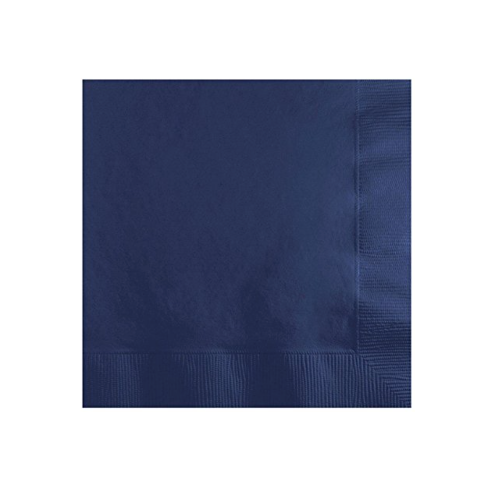 Navy Blue Party Napkins