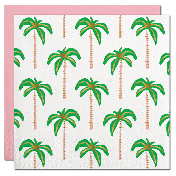Tropical Palm Tree Party Napkins