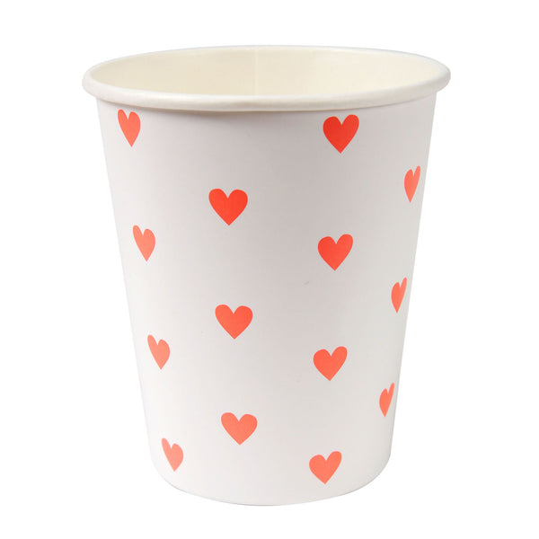 valentines day party cups
