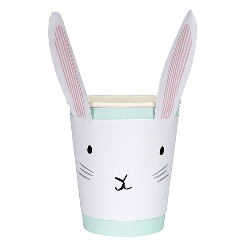 mint green easter party cups