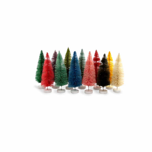 Rainbow Sisal Trees