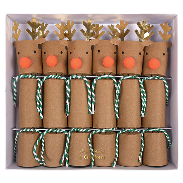 Holiday Reindeer Party Crackers