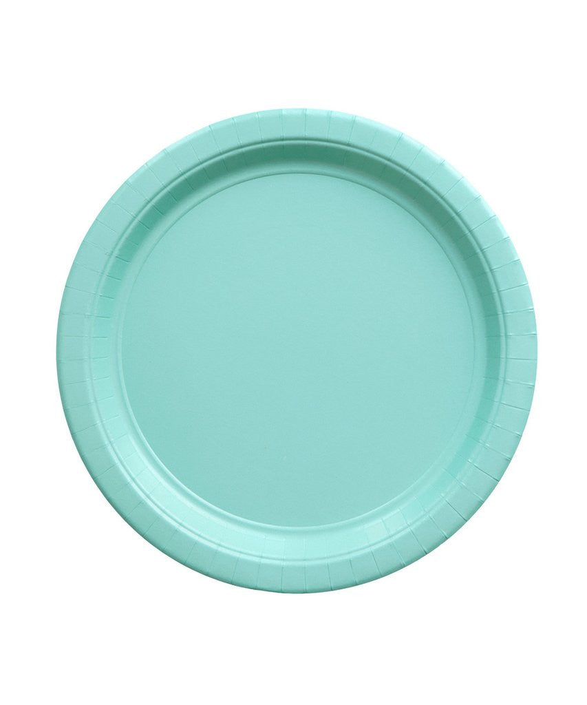 Robin's Egg Party Plates - Witty Bash