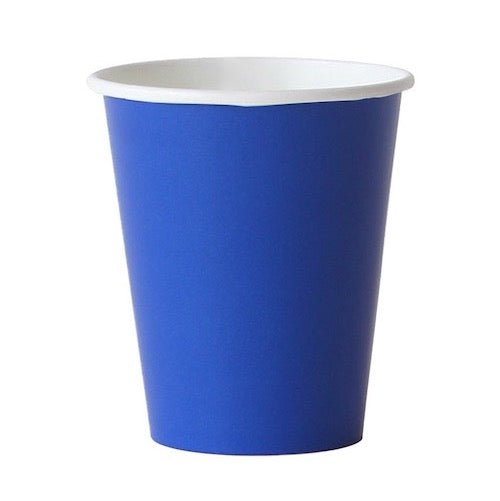 Royal Blue Party Cups - Witty Bash