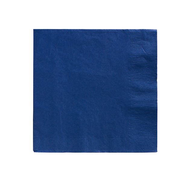 Royal Blue Party Napkins - Witty Bash