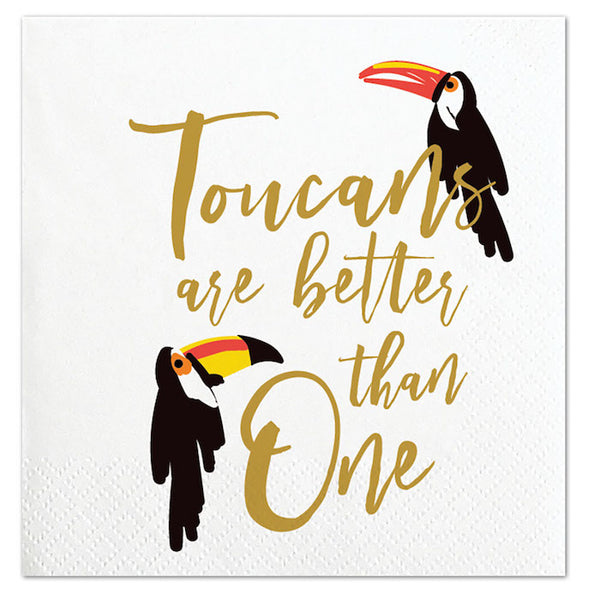 Toucan Party Napkins - Witty Bash