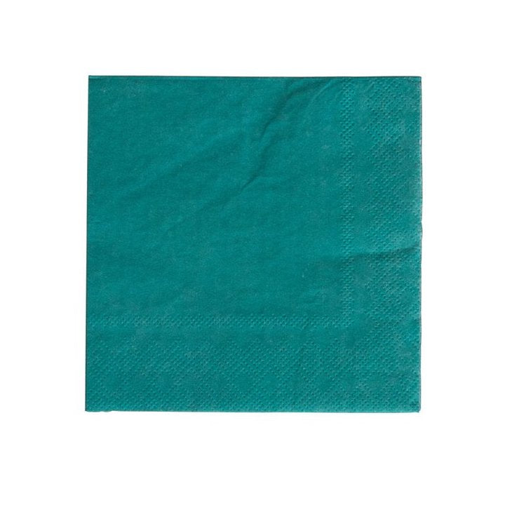 forest green napkins for parties