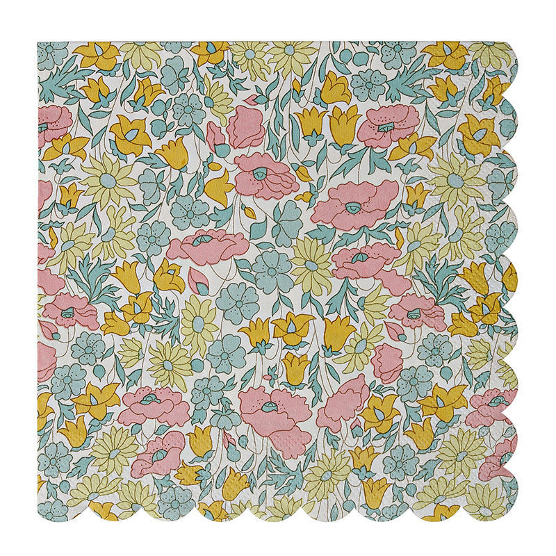 Vintage Floral Napkins - Witty Bash