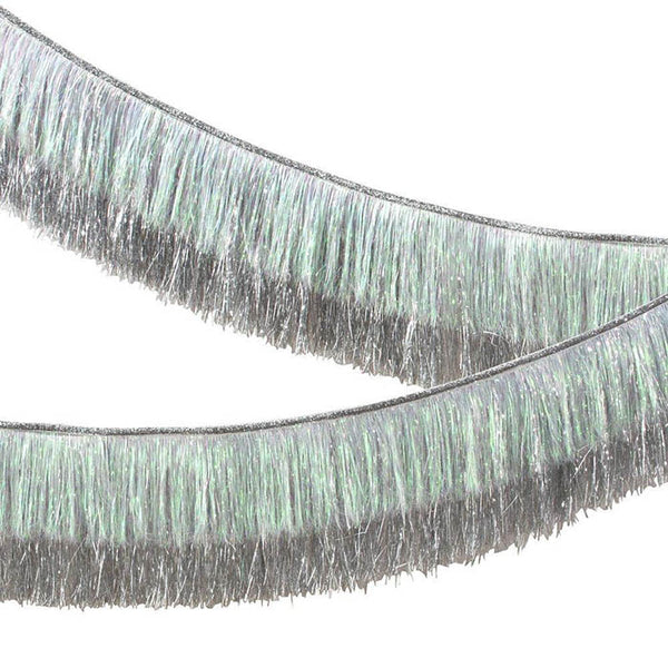 Iridescent Tinsel Garland