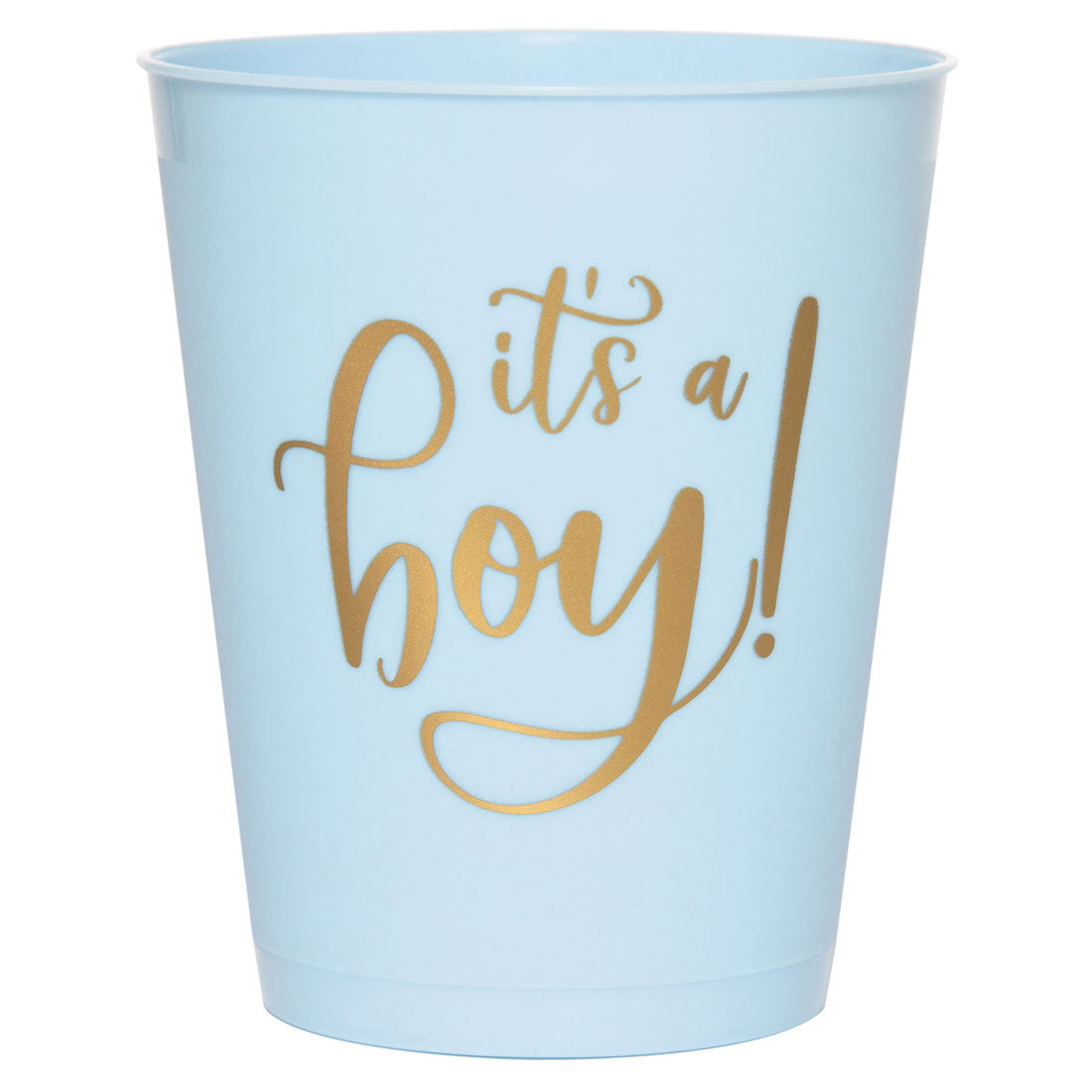Light Blue It's a Boy Cups