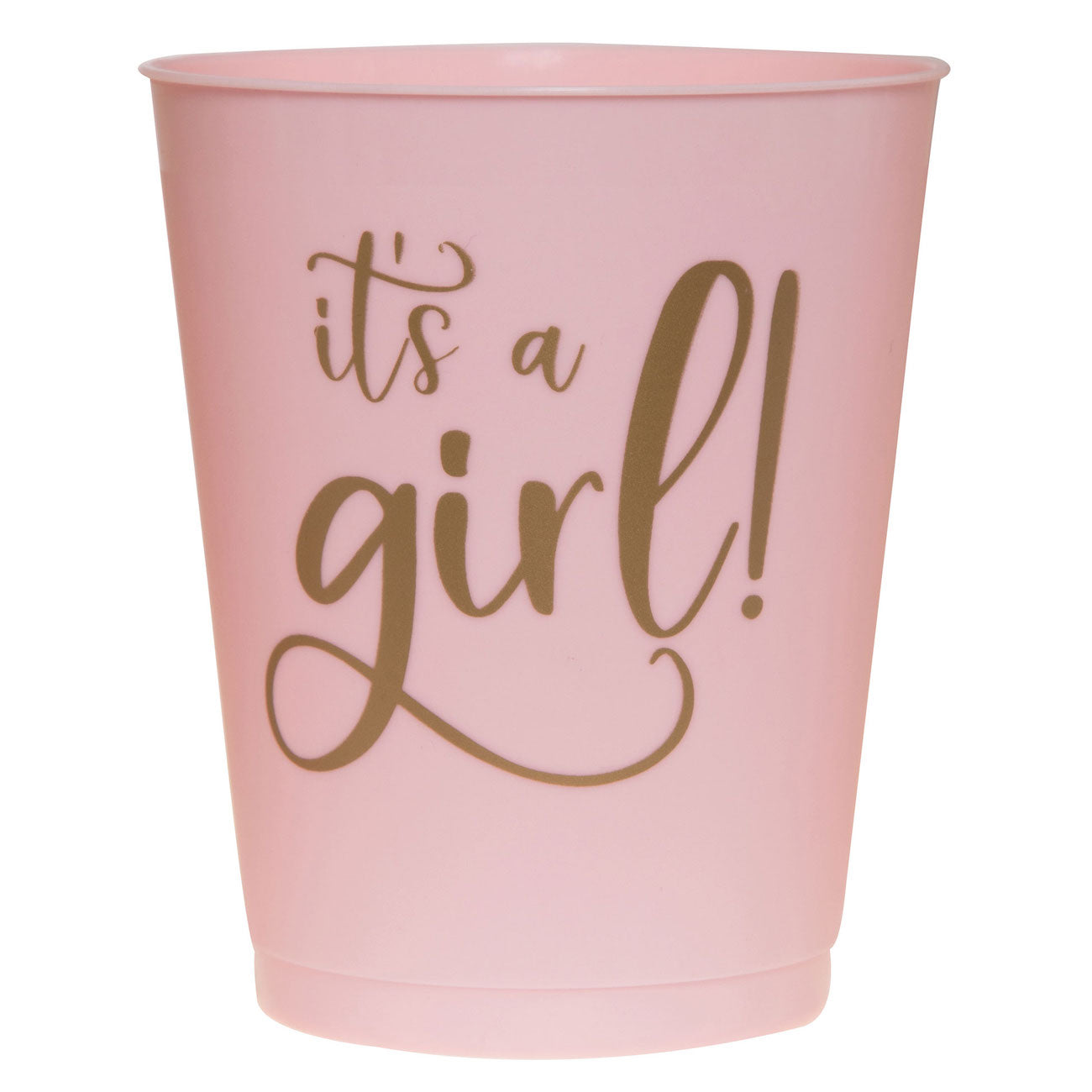 Light Pink It's a Girl Cups